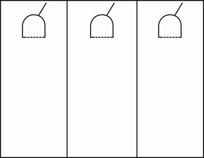 Door Hanger Template Illustrator Elegant Door Hanger Template Illustrator Templates Resume