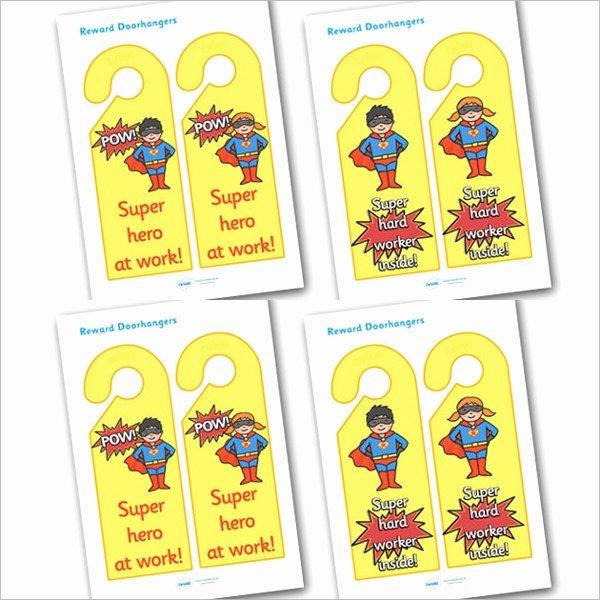 Door Hanger Template Illustrator Fresh 10 Education Door Hanger Templates Psd Vector Illustrator