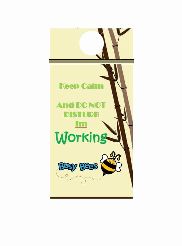 Door Hanger Template Publisher Elegant 43 Free Door Hanger Templates Word Pdf Template Lab