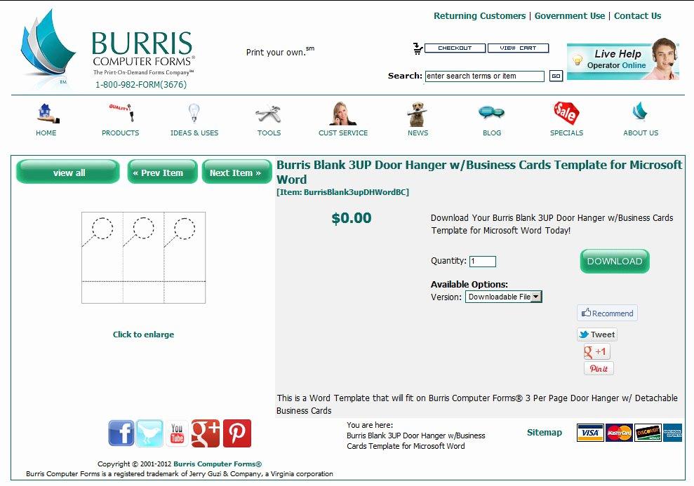 Door Hanger Template Word Elegant How to Create Your Own Door Hangers Burris Puter forms