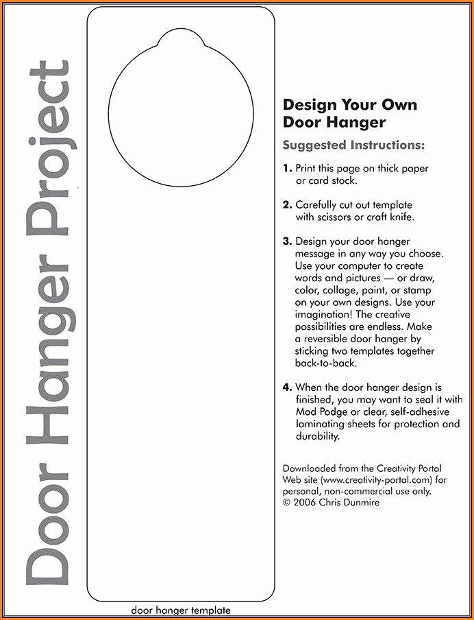 Door Hanger Template Word New Hotel Do Not Disturb Door Hanger Template Template 2