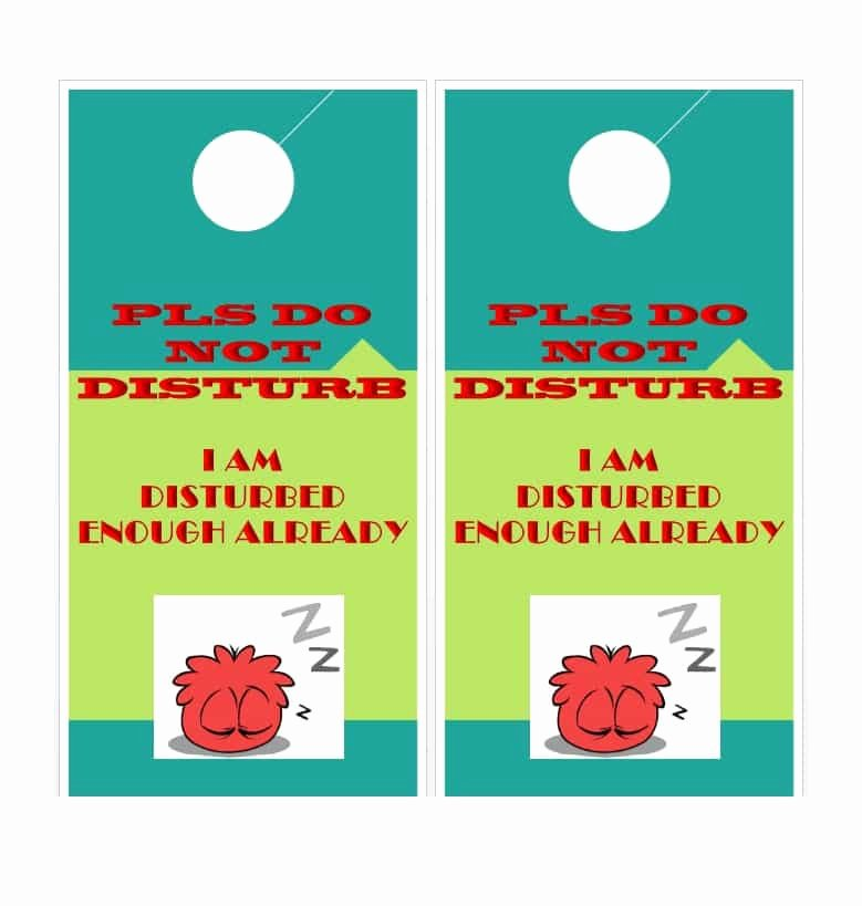 Door Hanger Templates for Word Beautiful 43 Free Door Hanger Templates Word Pdf Template Lab