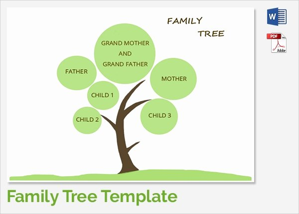 Editable Family Tree Template Word Fresh Sample Family Tree Chart Template 17 Documents In Pdf