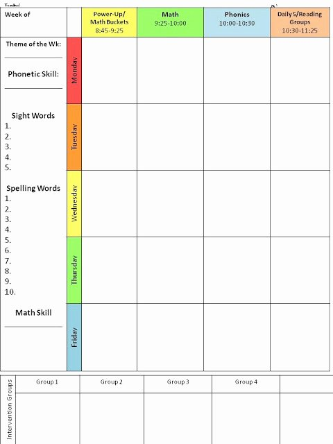 Editable Weekly Lesson Plan Template Elegant for the Love Of First Grade Throwback Thursday Planning