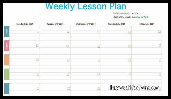 Editable Weekly Lesson Plan Template Luxury Plan It Editable Weekly Planner Review