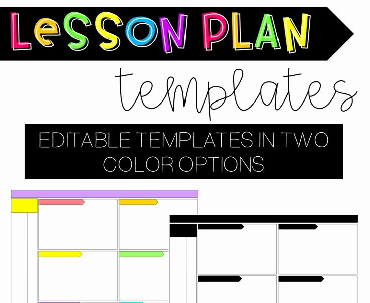 Editable Weekly Lesson Plan Template New 17 Best Images About Lesson Planning and Templates On