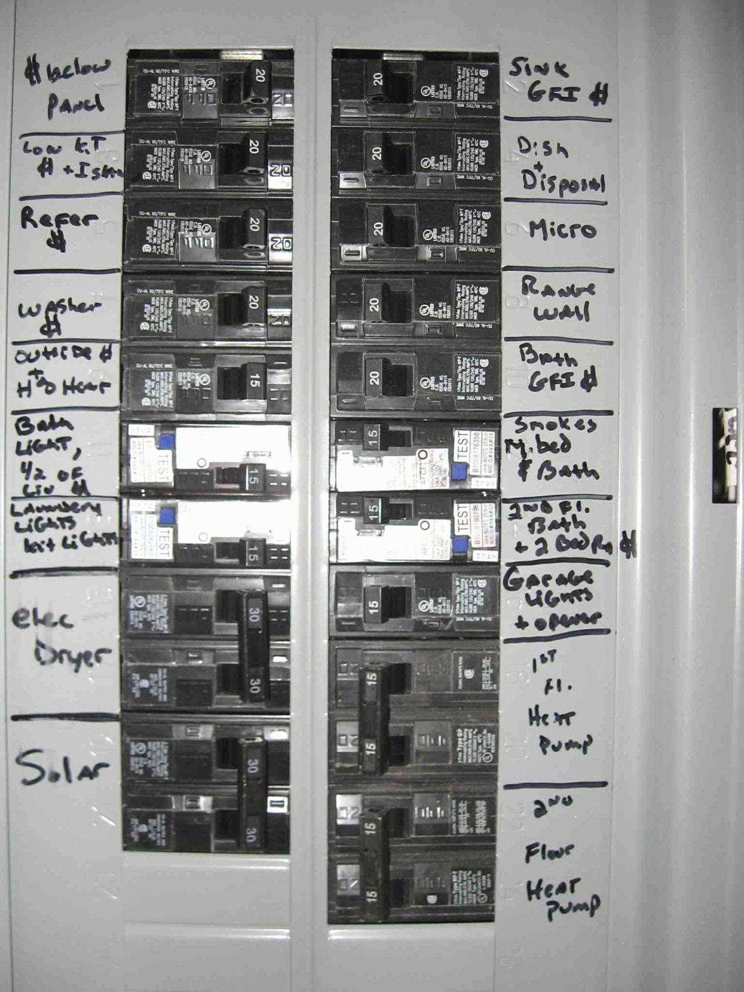 Electrical Panel Labels Template Fresh Five Facts About How to Label