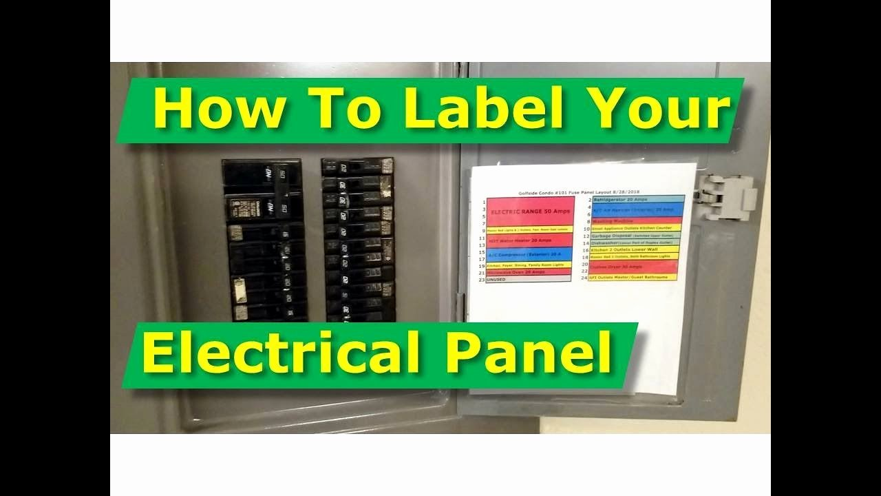 Electrical Panel Labels Template Luxury How to Map Out Label Your Electrical Panel Fuse Panel