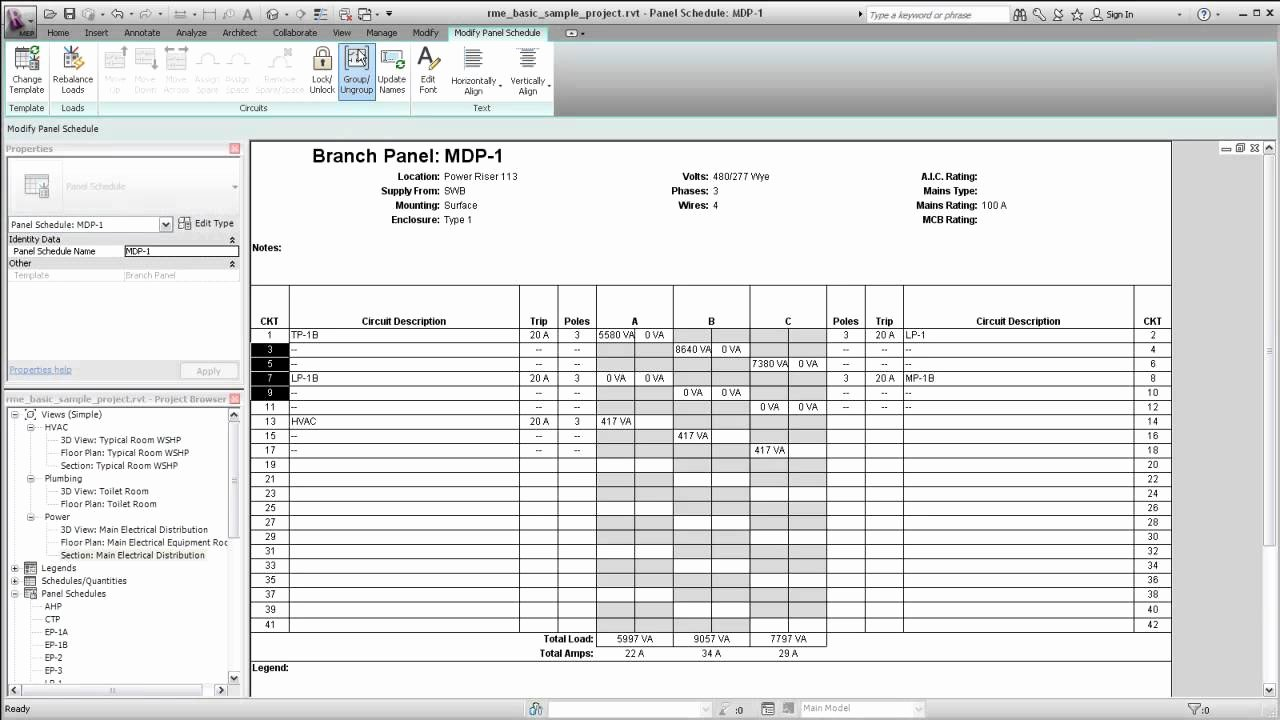 Electrical Panel Template Excel Elegant Template for Electrical Panel Schedule Free Programs