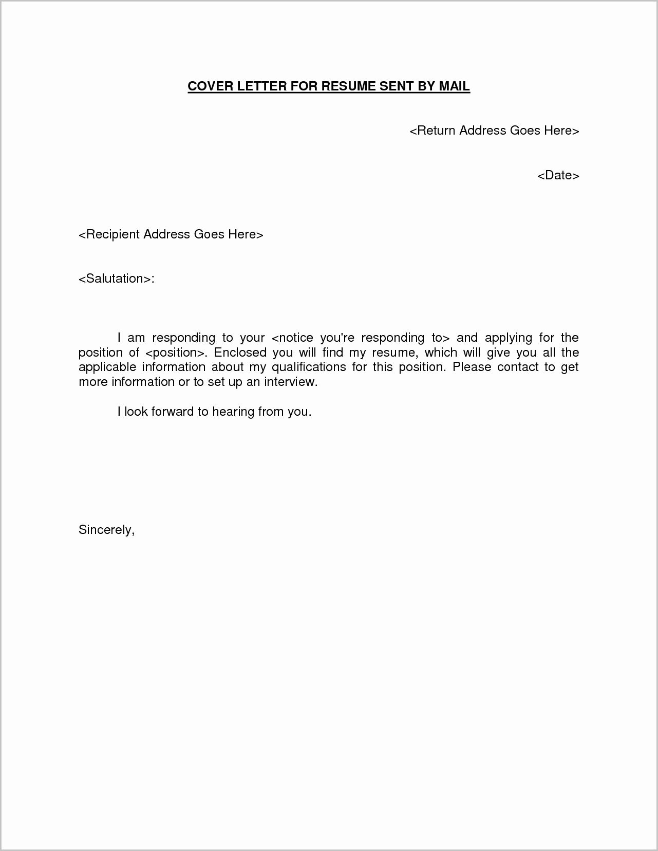 Email Cover Letter Templates Elegant 25 Email Cover Letter Sample Email Cover Letter Sample