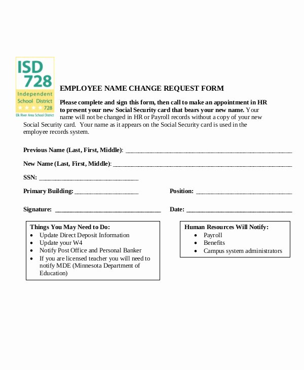 Employee Change form Template Unique 3 Employee Record Change forms Templates Pdf