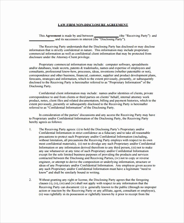 Employee Confidentiality Agreement Template Lovely Sample Employee Confidentiality Agreement – Cnbam