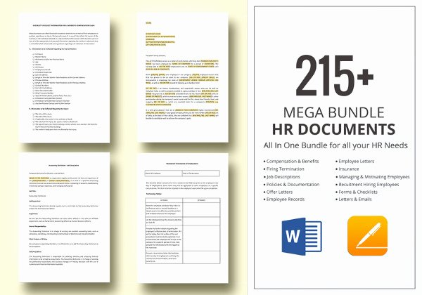Employee Handbook Template Word Free Fresh 14 Sample Employee Handbook & Manual Templates