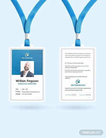 Employee Id Card Templates Awesome Free 35 Amazing Id Card Templates In Illustrator