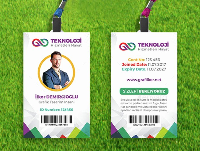 Employee Id Card Templates Elegant 15 Best Id Card Template Design In Psd and Ai Designyep