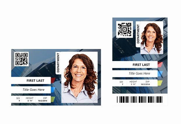 Employee Identification Card Template Fresh Employee Id Card Templates – Id Card Template Gallery – Id