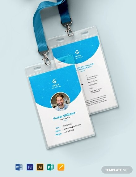 Employee Identification Card Template Inspirational 643 Free Card Templates [download Ready Made Samples