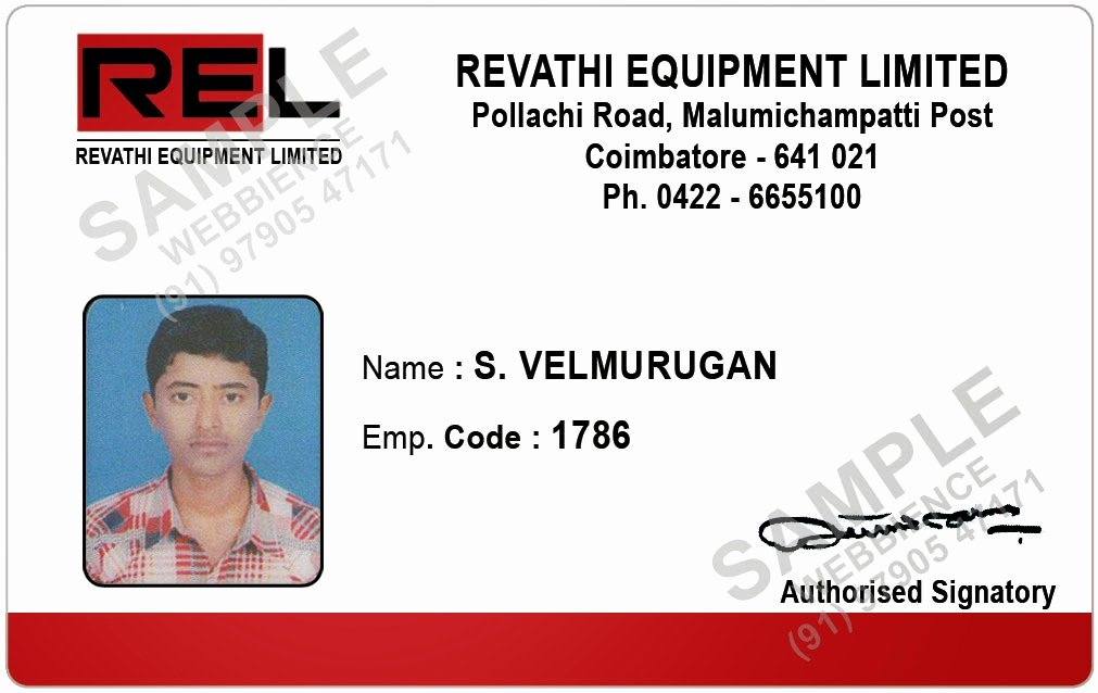 Employee Identification Card Template New Webbience Employee Id Card Templates