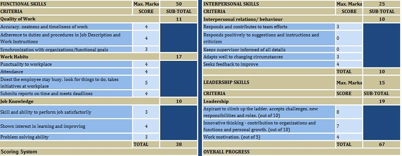 Employee Performance Review Template Excel Inspirational Download Employee Performance Evaluation Excel Template