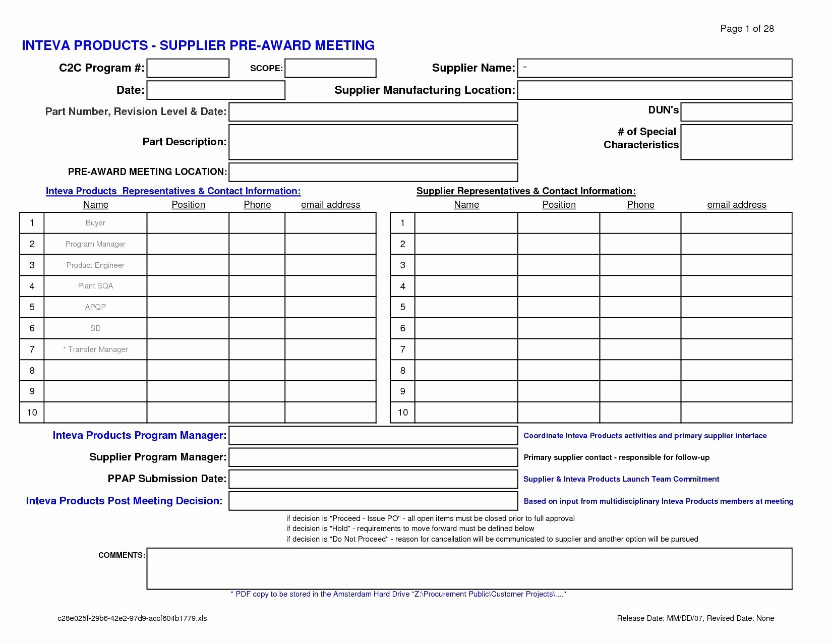 Employee Performance Review Template Excel Unique Employee Evaluation Template Excel