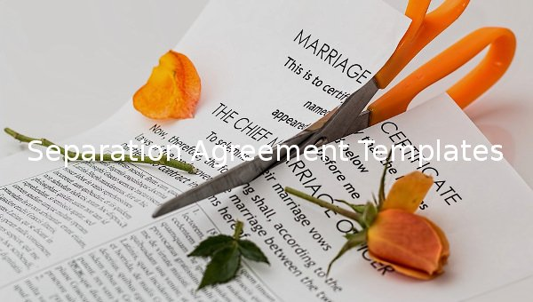 Employee Separation Agreement Template Luxury Separation Agreement Template – 14 Free Word Pdf