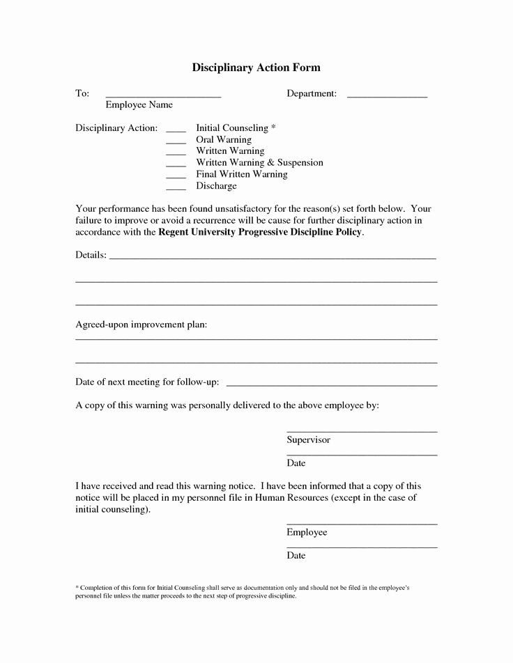 Employee Write Up Templates Unique Employee Write Up Template Free Google Search