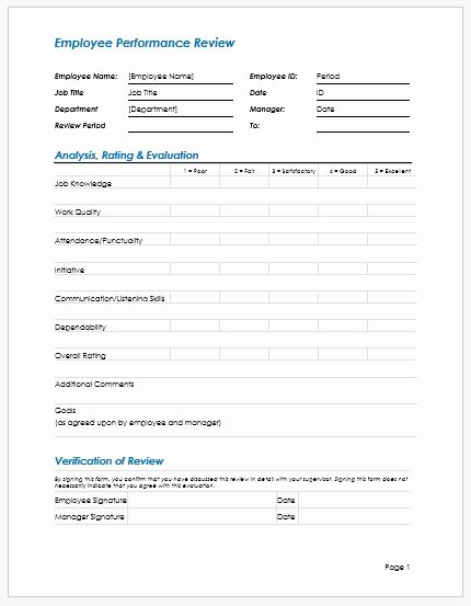 Employee Write Ups Templates Inspirational Employee Performance Review Write Up Template