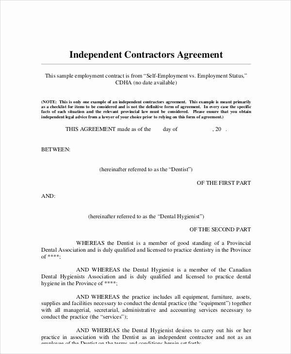 Employment Contract Template Word Awesome Standard Employment Contract Sample 13 Examples In Word