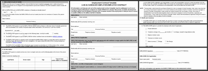 Employment Contract Template Word Best Of 5 Standard Employment Contract Template – Word Pdf format