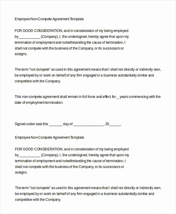 Employment Contract Template Word Elegant Employment Agreement Template 24 Free Word Pdf format