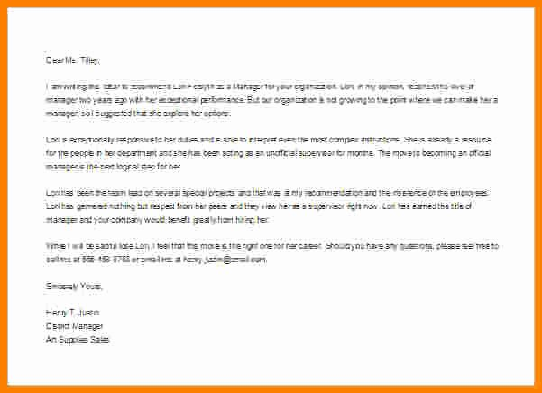 Employment Letter Of Recommendation Template Awesome 8 Employment Re Mendation Letter