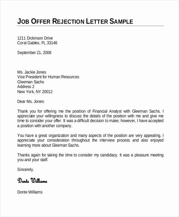 Employment Offer Letter Templates Luxury Letter Employment Fer
