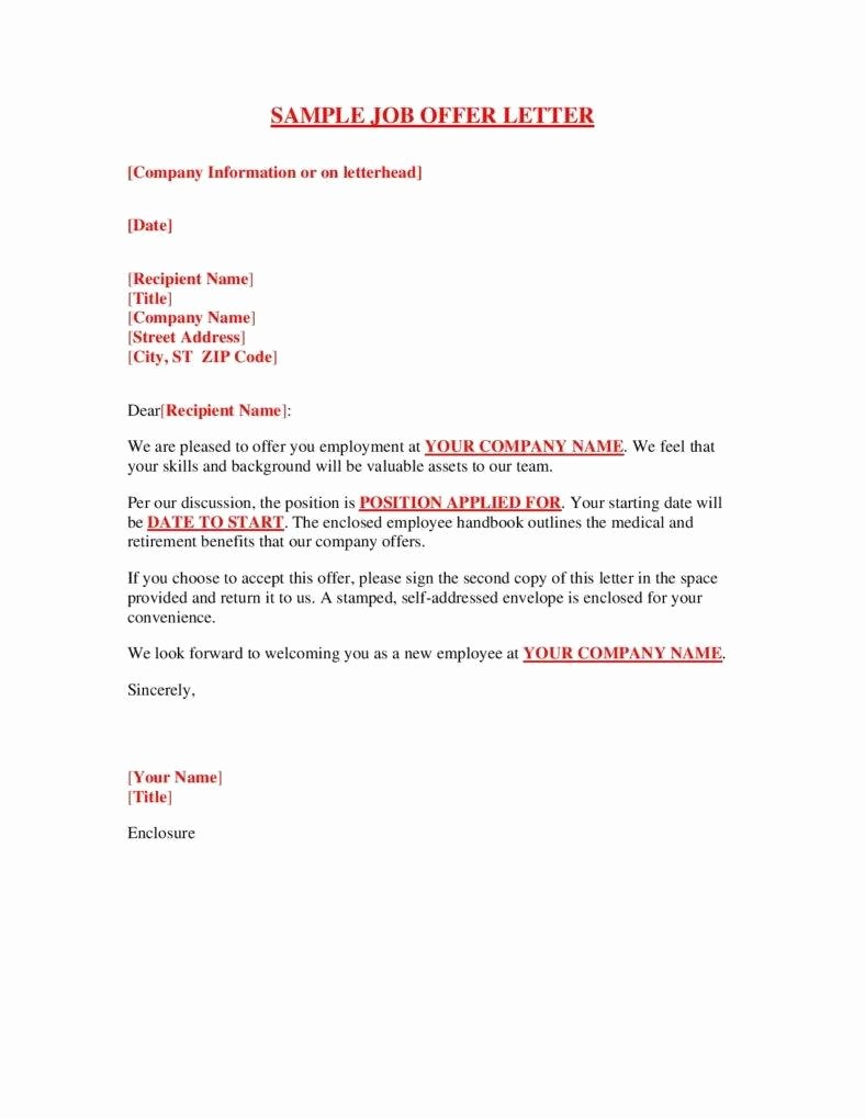 Employment Offer Letter Templates Unique the Great Importance Of Hiring the Right Employees