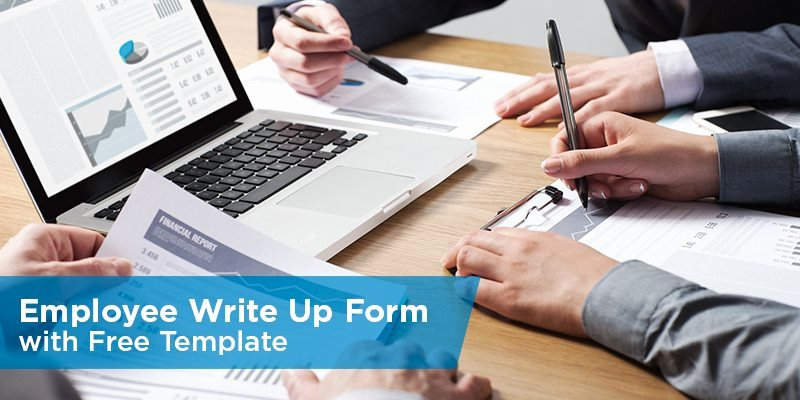 Employment Write Up Template Fresh Employee Write Up form with Free Template