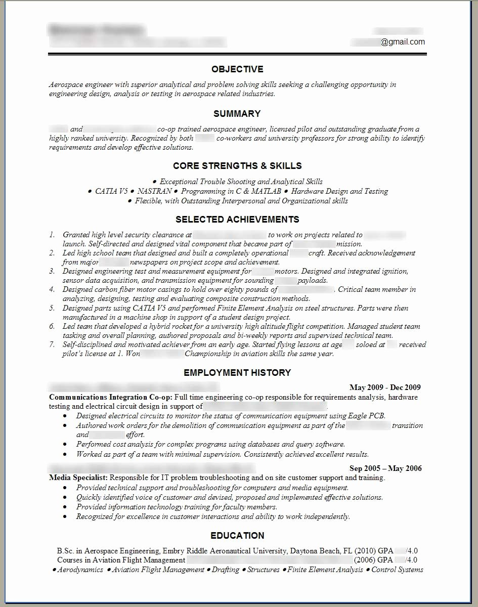 Engineer Resume Template Word Fresh software Engineer Resume Template Microsoft Word