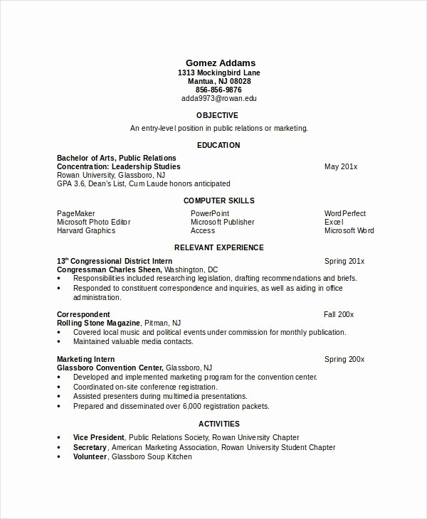 Engineer Resume Template Word Lovely 17 Engineering Resume Templates Pdf Doc