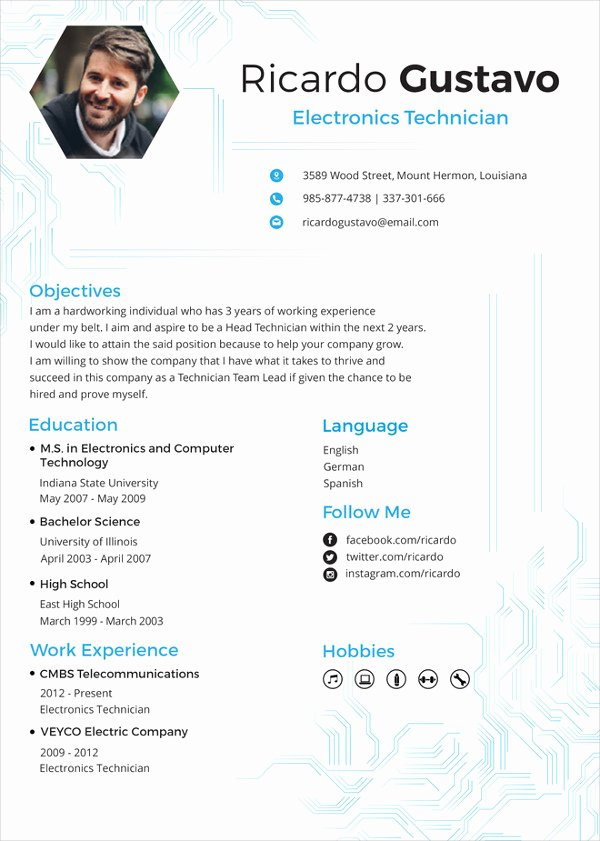 Engineer Resume Template Word Luxury Microsoft Word Resume Template 49 Free Samples