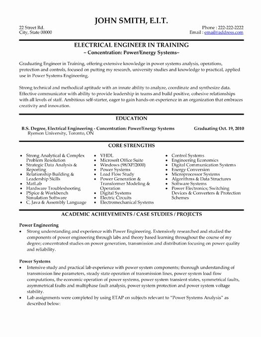 Engineer Resume Template Word Luxury Pin by Yolanda Thomas On Electrical Engineering