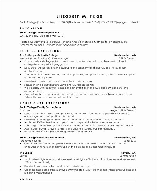 Engineer Resume Template Word Luxury Resume Relevant Coursework