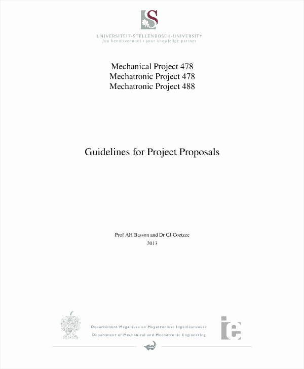 Engineering Project Proposal Template Awesome 11 Engineering Project Proposal Templates Pdf Word