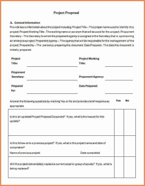 Engineering Project Proposal Template Awesome 8 Project Proposal Template Word
