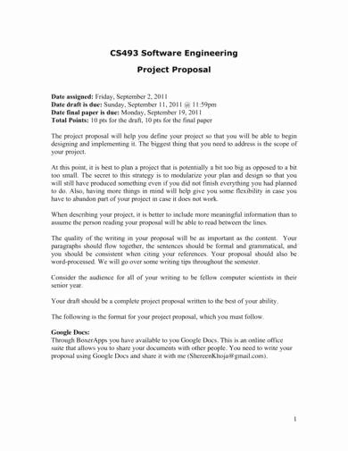 Engineering Project Proposal Template Beautiful 9 Engineering Project Proposal Samples Pdf Word