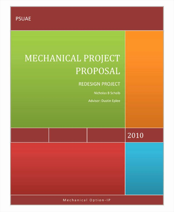 Engineering Project Proposal Template Best Of 11 Engineering Project Proposal Templates Pdf Word