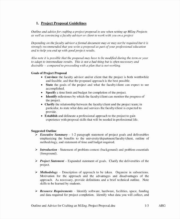 Engineering Project Proposal Template Luxury 11 Engineering Project Proposal Templates Pdf Word