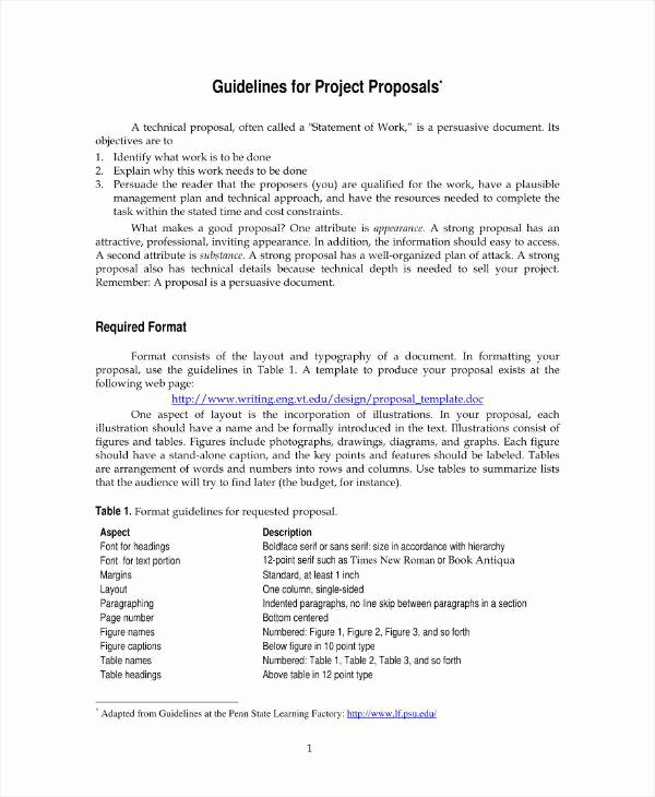 Engineering Project Proposal Template Unique 11 Engineering Project Proposal Templates Pdf Word