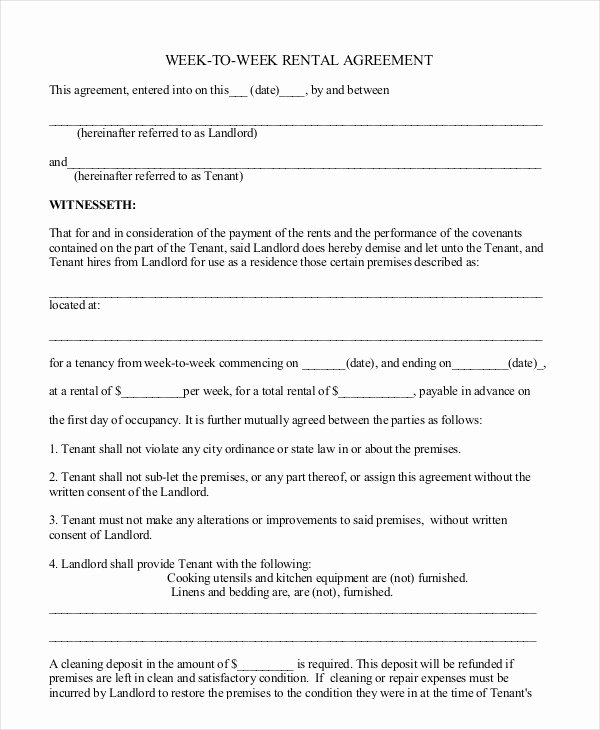 Equipment Rental Agreement Template Free Fresh Free Rental Agreement Template 24 Free Word Pdf