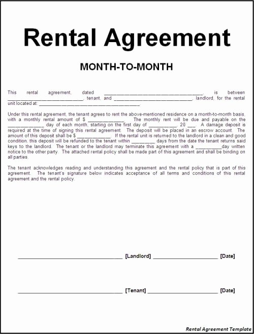 Equipment Rental Agreement Template Free Fresh How to Find A Rental Agreement Template