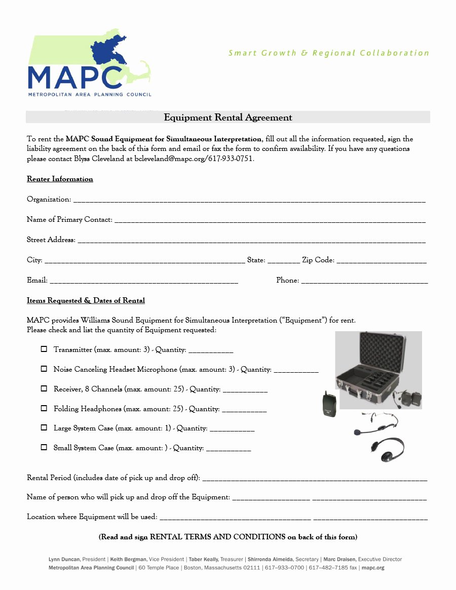 Equipment Rental Agreement Template Free Unique 44 Simple Equipment Lease Agreement Templates Template Lab