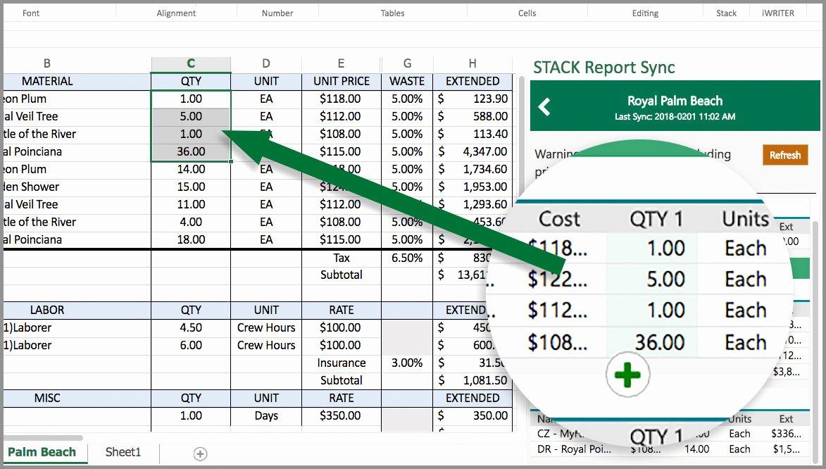 Estimating Template for Construction Elegant Stack Report Sync –construction Estimate Template for Excel