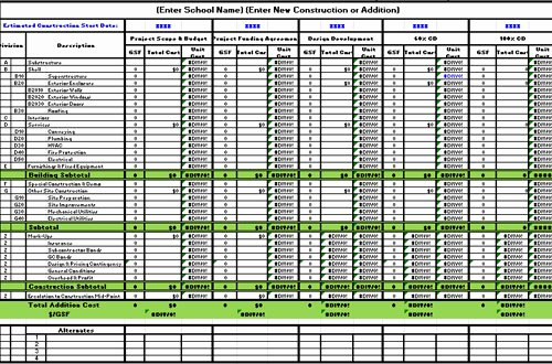 Estimating Template for Construction Luxury Free Construction Estimate Template Excel